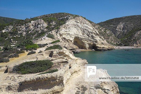 Foúrni Beach  Rhodos  Dodekanes  Griechenland  Europa