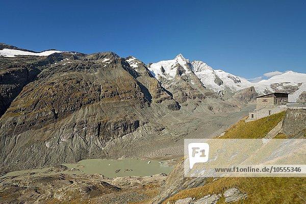 Franz-Josefs-Höhe mit Großglockner  Nationalpark Hohe Tauern  Kärnten  Österreich  Europa