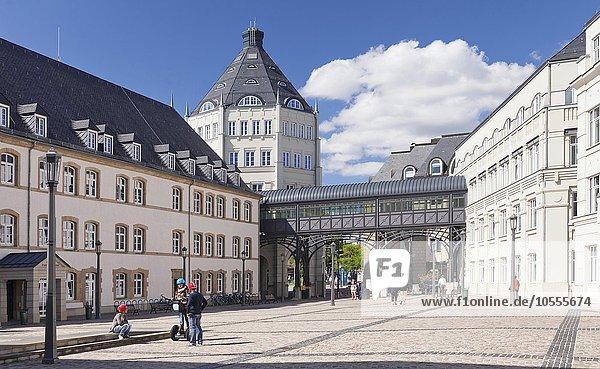 Justizpalast  Plateau du Saint Esprit  Luxemburg Stadt  Großherzogtum Luxemburg
