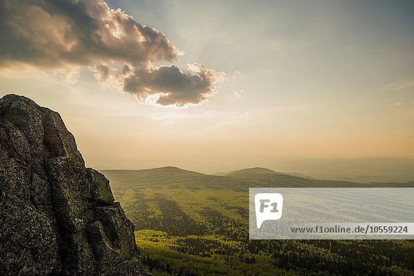 Ländliches Motiv ländliche Motive Felsen Landschaft über Berggipfel Gipfel Spitze Spitzen