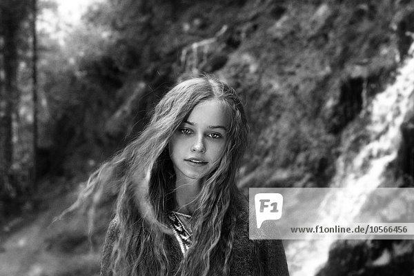 Jugendlicher Europäer Wald Mädchen Jugendlicher,Europäer,Wald,Mädchen