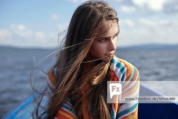 Jugendlicher Europäer See Kanu Mädchen Jugendlicher,Europäer,See,Kanu,Mädchen