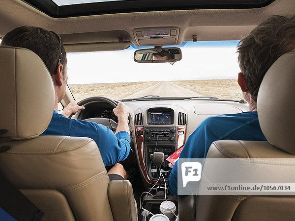 Europäer Auto fahren