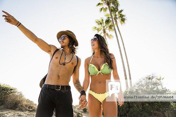 Junges Paar aus Newport Beach  Kalifornien  USA