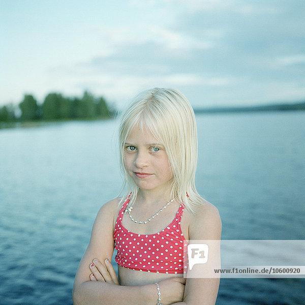 Portrait See Mädchen