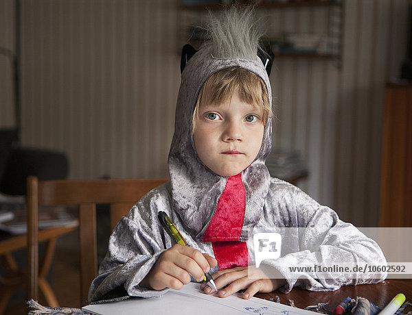 schreiben Junge - Person Kleidung Kostüm - Faschingskostüm Verkleidung