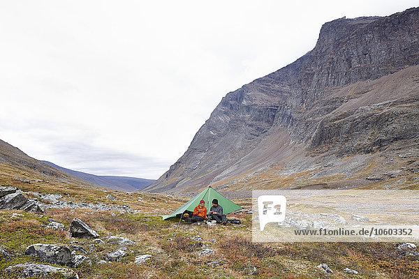 Berg camping