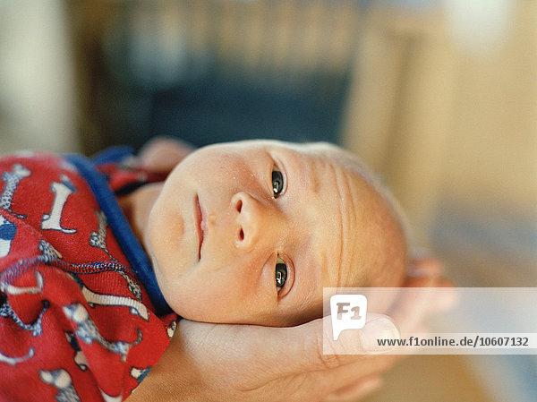 A newborn baby  Sweden.