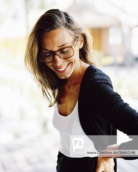 Portrait Frau Kleidung