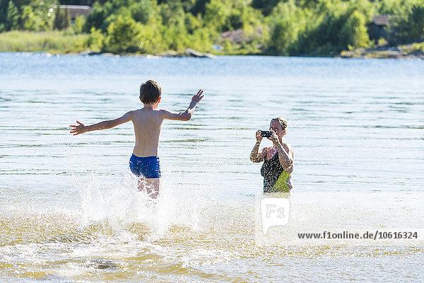 Wasser Junge - Person