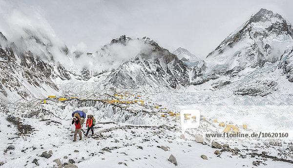 Nepal  Himalaya  Khumbu  Everest Region  Everest Basislager
