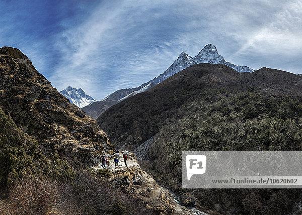 Nepal  Khumbu  Everest-Region  Ama Dablam