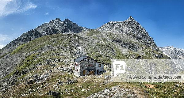 Schweiz  Wallis  Wiwannihorn  Wiwannihütte