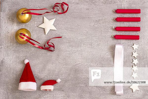 Kollektion Weihnachtsdekoration