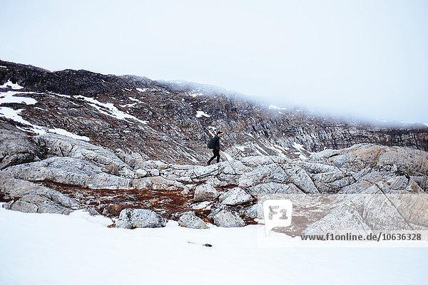 entfernt Berg Fotografie gehen Landschaft wandern Distanz