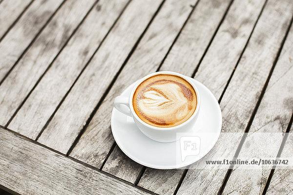 Tasse Kunst Kaffee