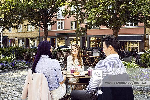 Freundschaft Cafe Außenaufnahme