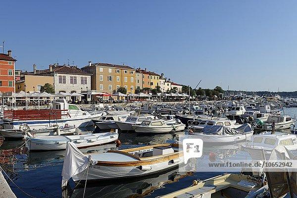 Rovinj  historic centre  Istria  Croatia  Europe
