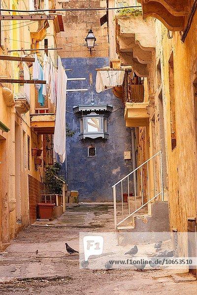 Valletta Hauptstadt Europa Straße Großstadt Malta