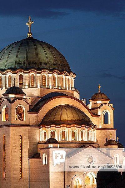 Kirche russisch orthodox russisch-orthodox Serbien
