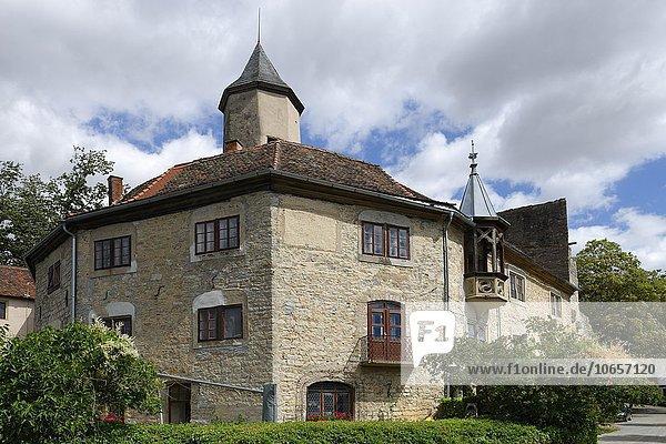 Burg  Krautheim  Baden-Württemberg  Deutschland  Europa