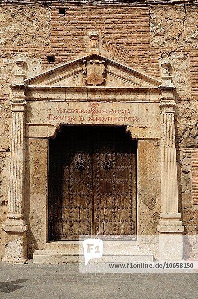 Eingang Architektur Hochschule Puerta de Alcala Universität