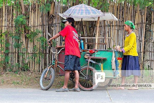 Lebensmittel Straße verkaufen Philippinen