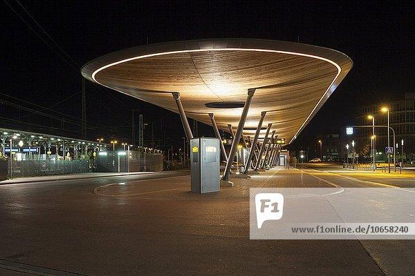Busbahnhof Unna  ZOB  Unna  Nordrhein-Westfalen  Deutschland  Europa