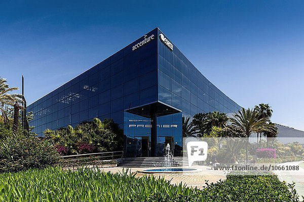 Technologie Gebäude Büro Andalusien Malaga Spanien