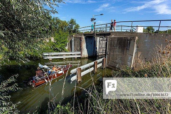 Wasser Europa geben Freizeit Fluss Tschechische Republik Tschechien bauen Kreuzfahrtschiff Richtung
