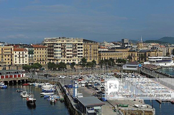 Hafen Europa Spanien Baskenland
