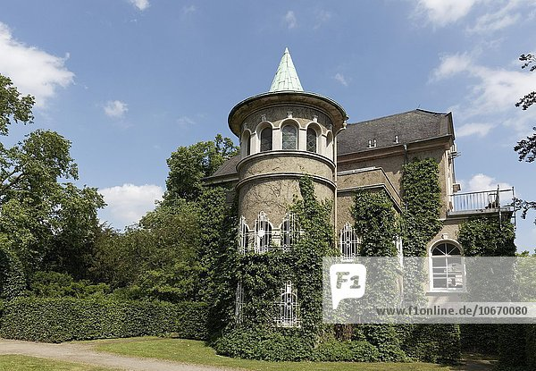 Schloss Styrum  Mülheim an der Ruhr  Ruhrgebiet  Nordrhein-Westfalen  Deutschland  Europa