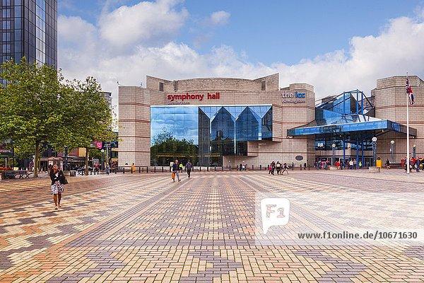 Symphony Hall und ICC  Broad Street  Birmingham  England