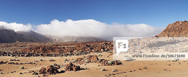 Caldera de las Canadas  Teide-Nationalpark  Teneriffa  Kanarische Inseln  Spanien  Europa