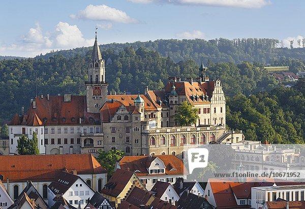 Schloss Sigmaringen  Oberschwaben  Schwaben  Baden-Württemberg  Deutschland  Europa