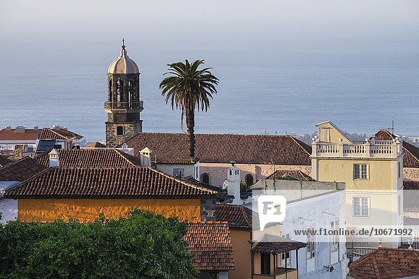 Historic centre  Santo Domingo church  La Orotava  Tenerife  Canary Islands  Spain  Europe