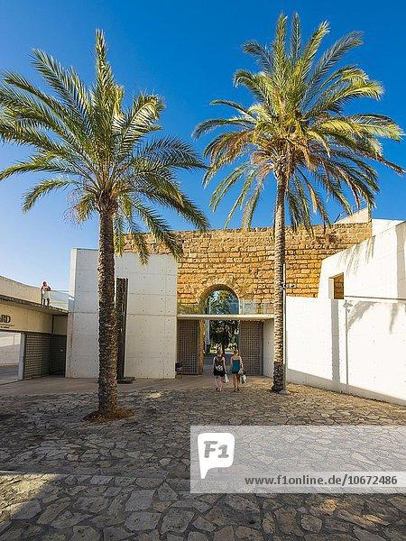 Museum Es Baluard  Kunstmuseum  Bastion de Sant Pere  Palma de Mallorca  Mallorca  Balearen  Spanien  Europa