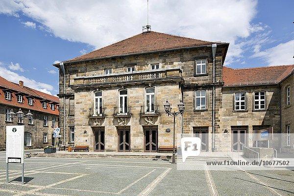 Ehemalige markgräfliche Reithalle  heute Stadthalle Bayreuth  Veranstaltungsgebäude  Bayreuth  Oberfranken  Bayern  Deutschland  Europa