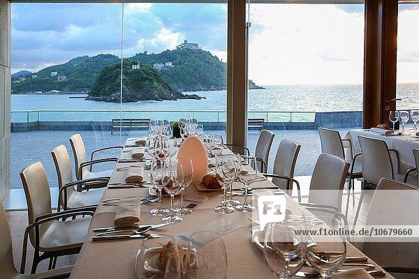 Restaurant Bucht Spanien