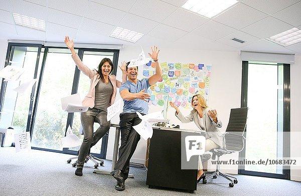 Teamwork Büro Chef