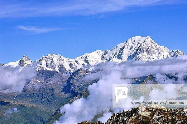 Frankreich Französische Alpen Ansicht