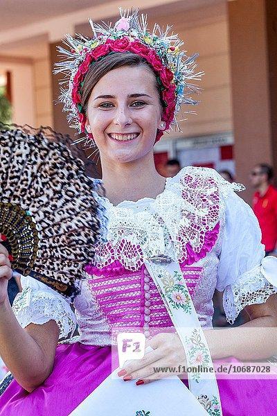 Europa Frau Tschechische Republik Tschechien Kostüm - Faschingskostüm Mensch Verkleidung