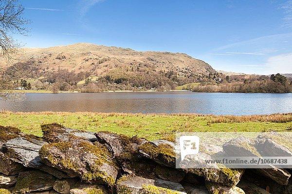 See Ansicht Cumbria England Grasmere Lake District