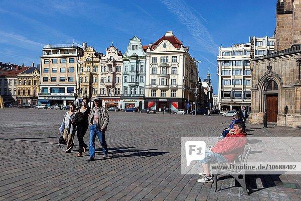 Stadtplatz Tschechische Republik Tschechien Pilsen