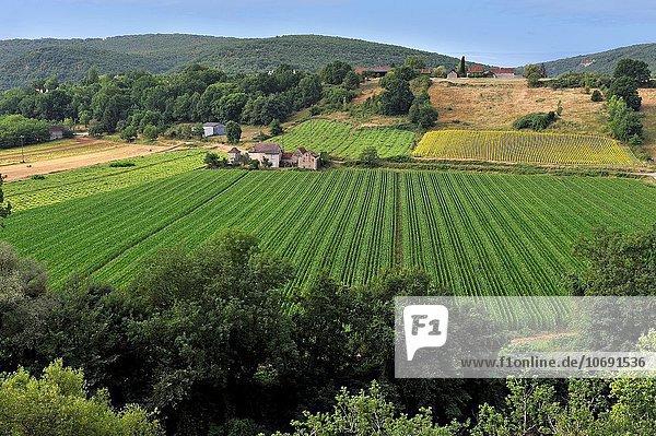 Europa Ländliches Motiv ländliche Motive Zimmer Geographie Pyrenäen