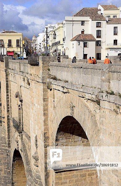 Brücke Andalusien Malaga neu Ronda Spanien