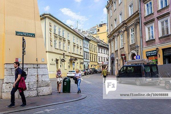Europa Altstadt Krakau Polen