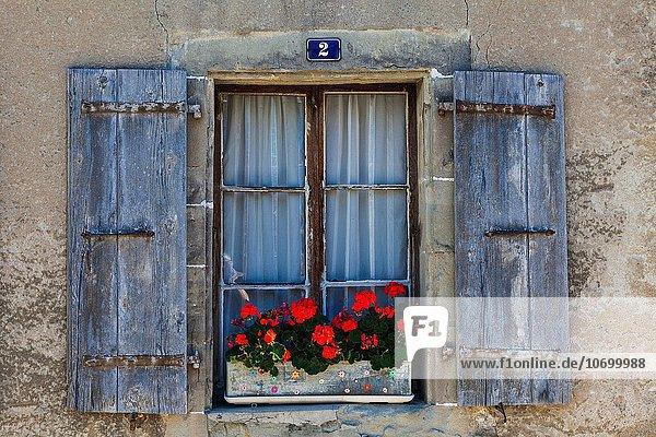Fenster Gebäude Stadt Jalousie alt Schweiz