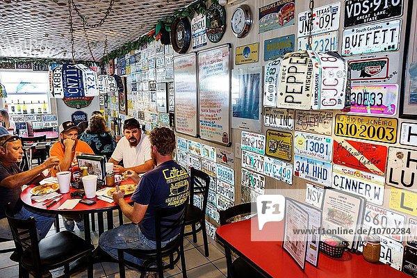 Restaurant innerhalb Schlüssel Florida Key Largo
