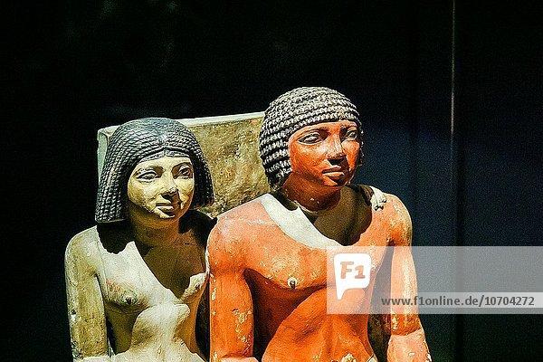 Ehefrau Ägypten Kalkstein